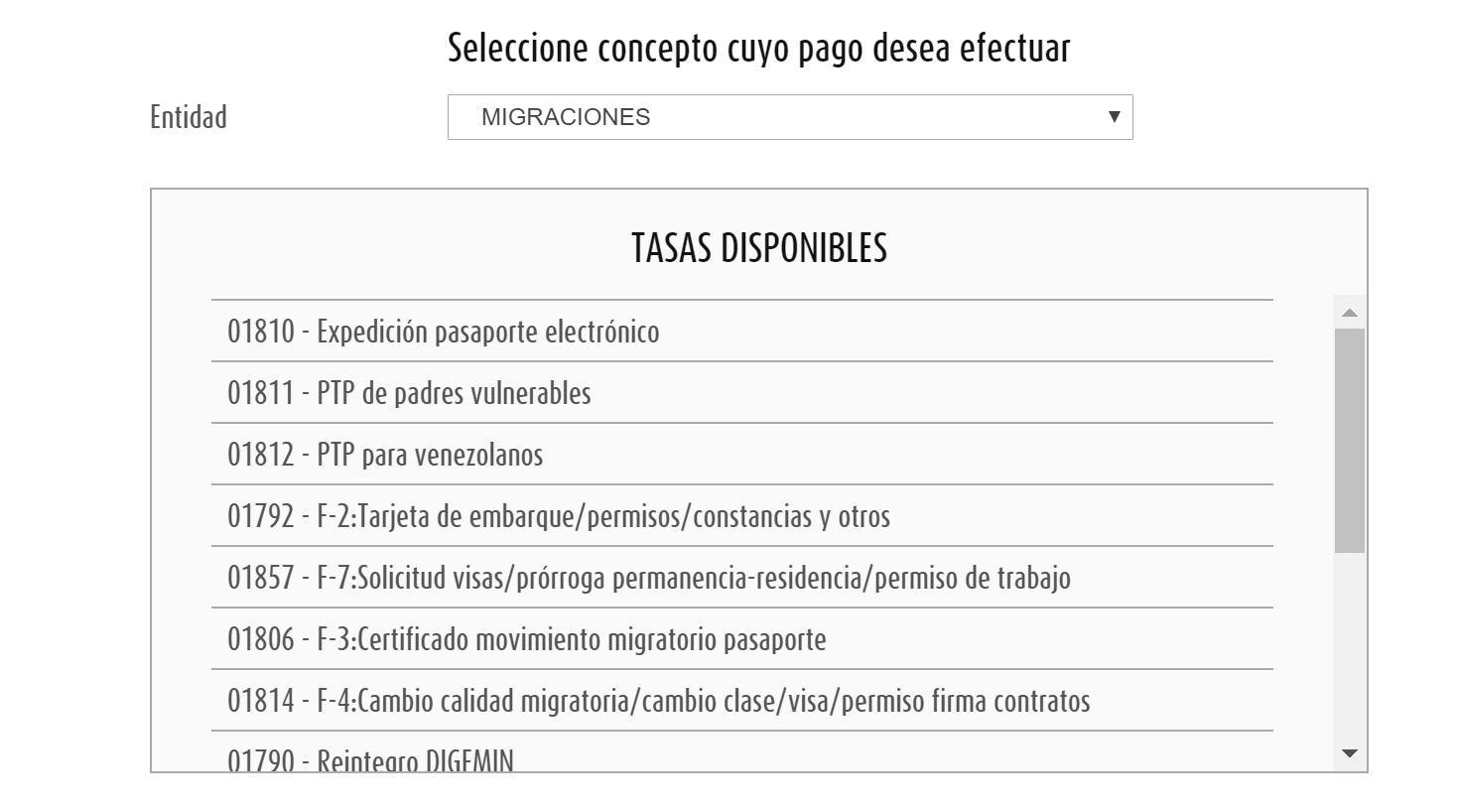 Peru visa extension payment on pagalo.pe