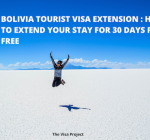 30 day tourist visa extension for Bolivia
