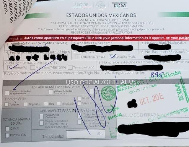 I-94 extension by going to Mexico through tourist permit