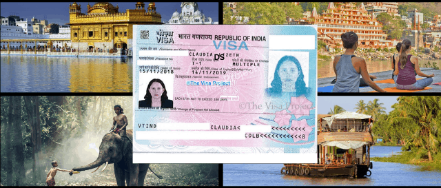 Tourist visa for India from embassy