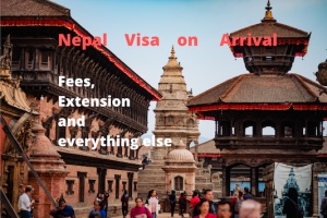 Nepal visa at India-Nepal border