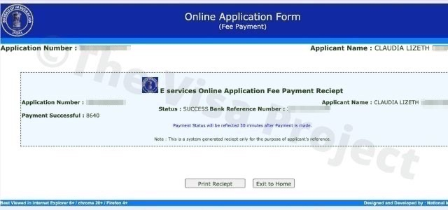 India visa extension fees payment