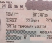 Sample Jana Temporary Visitor Visa