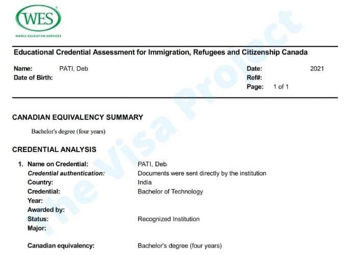 WES Sample Evaluation ECA